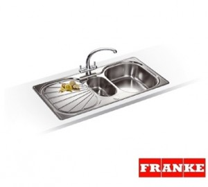 Franke Erica EUX 651 stainless steel inset sink waterfiltershop uk