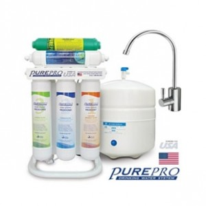 quick change 6 stage reverse osmosis system with alkaline water filter