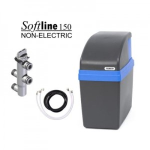 non-electric metered water softener