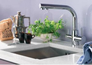 BRITA Dolce WD3020 3 Way Tap Triflow Water Filter Tap