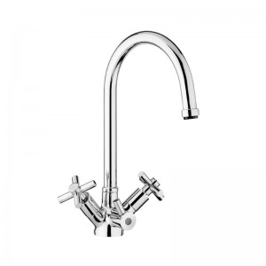 Kensington Chrome 3 Way Kitchen Tap