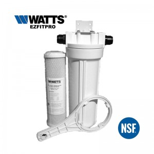 Watts EZFITPRO-100 Undersink Water Filter Kit