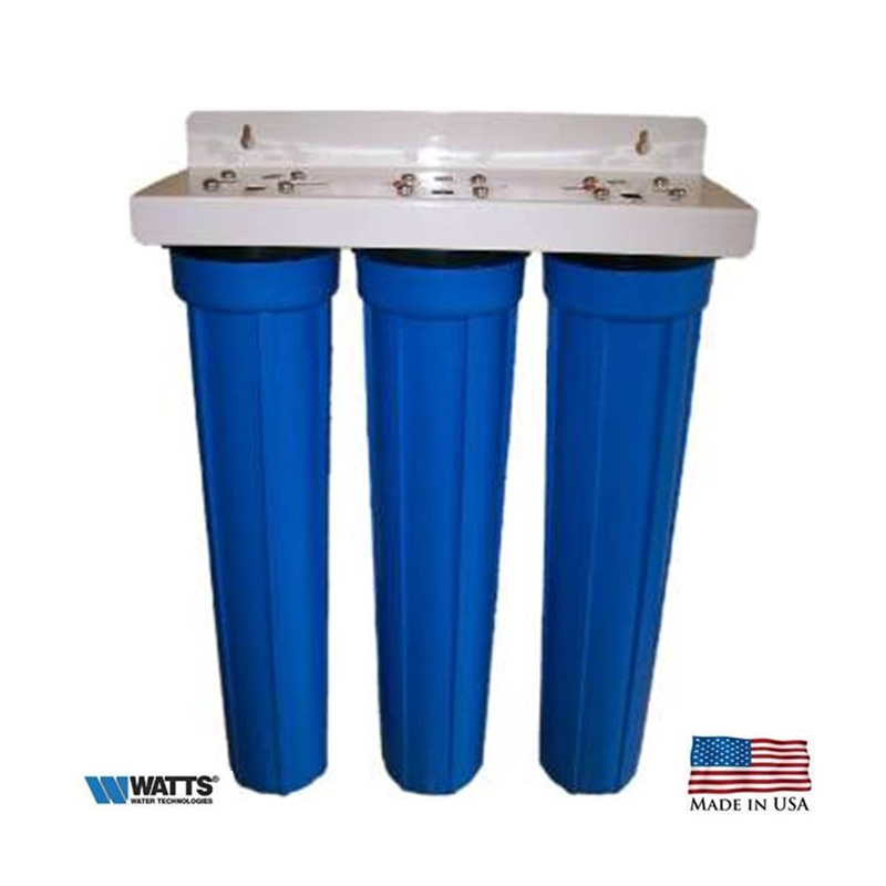 Watts Premier Triple Whole House Water Filter System