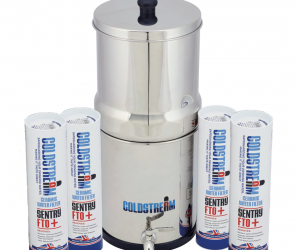 Gravity water filter coldstream