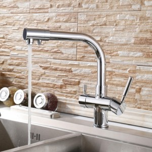 3 way kitchen tap osmio alba