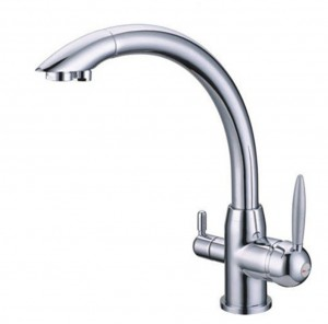 Osmio Vitalia Chrome  3 way kitchen tap