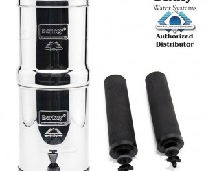 portable gravity water filter