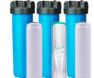 should you buy a whole house water filter or an undersink water filter