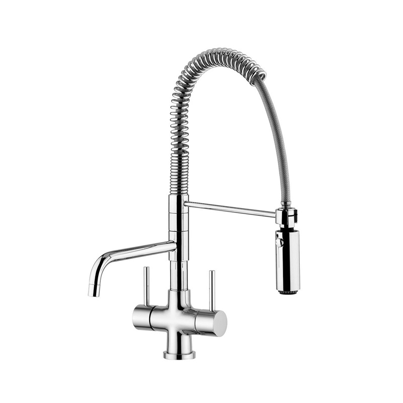 Quadro Azzurra Breve 3 Way Tri Flow Kitchen Tap Spray Hose 3 Way