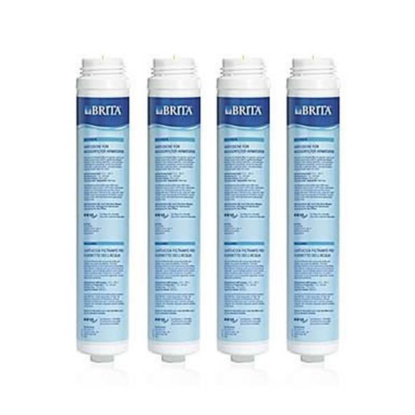 Brita Inline Water Filter Cartridge 4 Value Pack Water