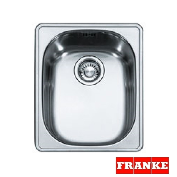 franke compact plus cpx p 610 stainless steel inset sink - Kitchen Sinks Uk