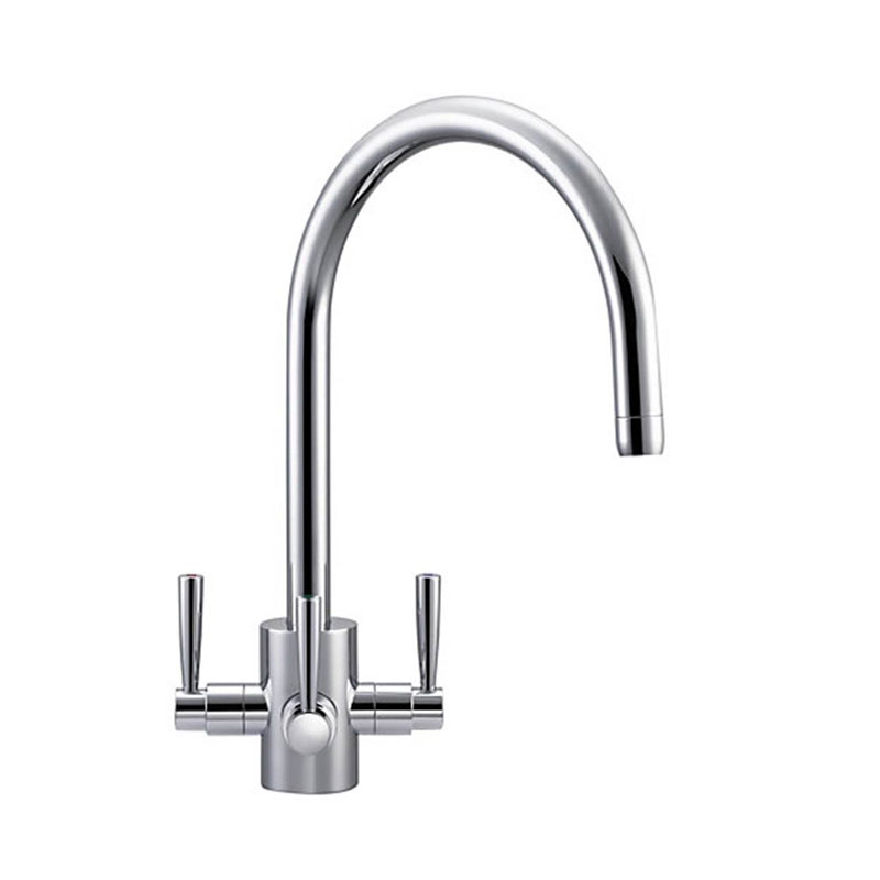 Franke Olympus Chrome 3 Way Filterflow Tap 3 Way Kitchen Tap