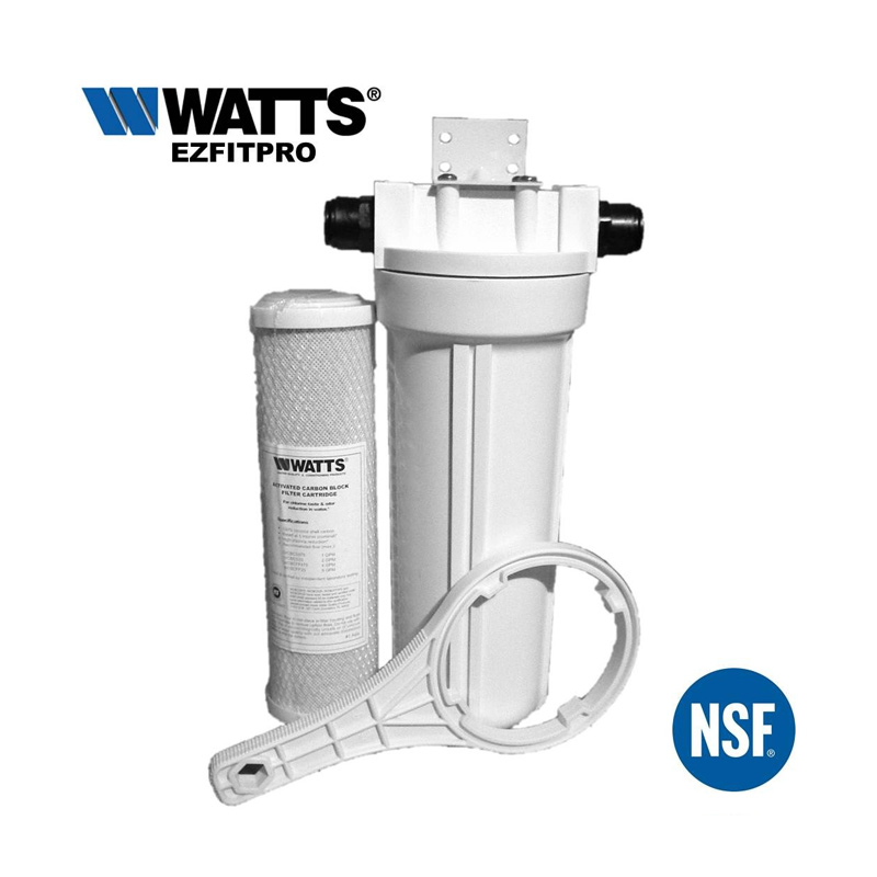 Watts ezfitpro 100 undersink water filter kit 15mm push fit for Kit filtration