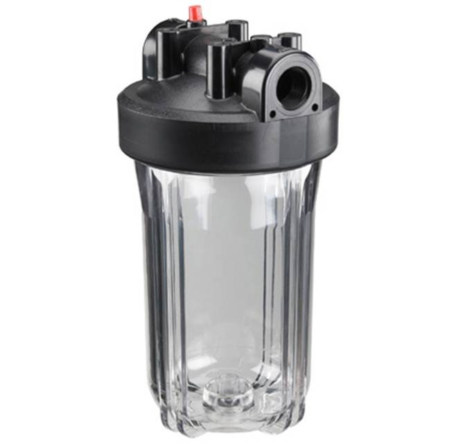 Watts 4 5 X 10 Inch Full Flow Clear Housing Water Filter